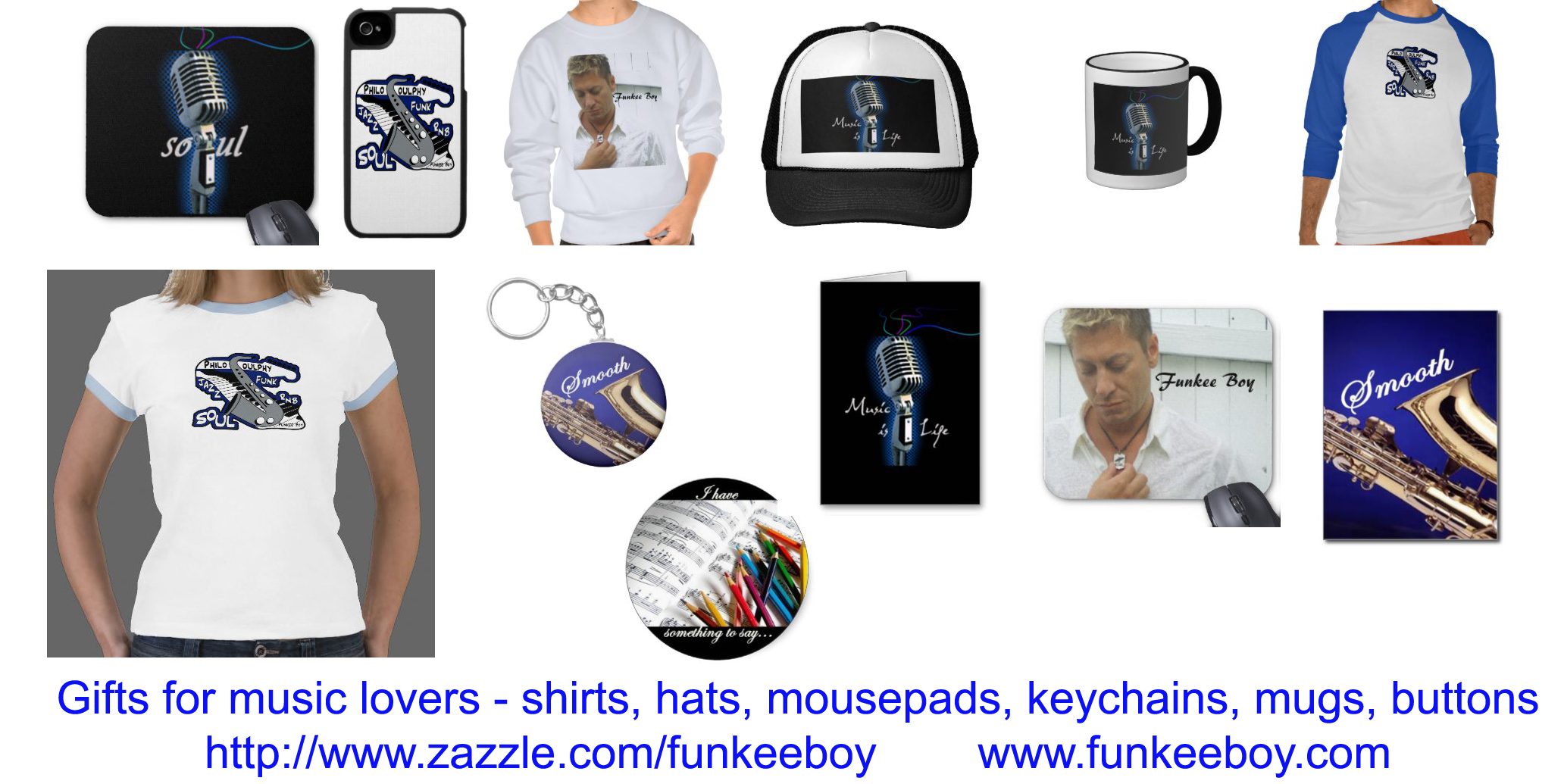 gifts for music lovers, songwriters, musicians, singers, mugs, shirts, studio, recording, hats